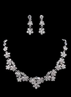Элегантные сплав с горный хрусталь Женщины Комплекты ювелирных изделий (011017879)