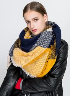 Цветной блок шея/привлекательный/Холодная погода акрил Шарф (204191658)