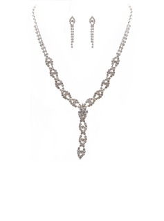 Элегантные сплав/Стразы Женщины Комплекты ювелирных изделий (011027611)