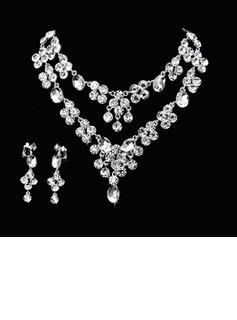 Lindo Liga/Strass Senhoras Conjuntos de jóias (011026996)