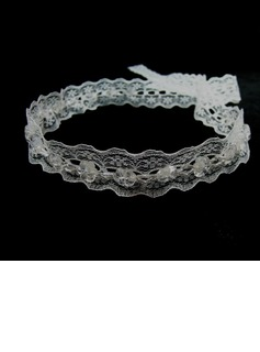 Stylish Crystal/Lace Headbands (042025236)