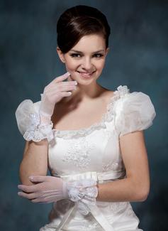 Тюль Наручные длина Партии/мода перчатки/Свадебные перчатки (014020504)