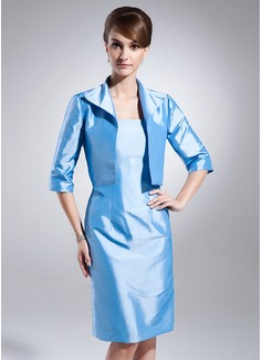 Half-Sleeve Taffeta Special Occasion Wrap (013015606)