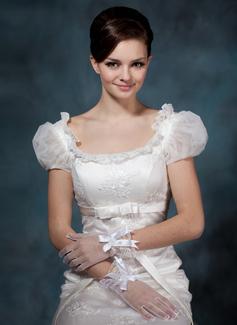 Voile Wrist Lengte Party/Mode Handschoenen/Bruids Handschoenen (014020513)