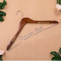 Bridesmaid Gifts - Personalized Beautiful Classic Wooden Hanger (256176240)