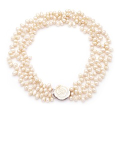 Beautiful Pearl Ladies' Necklaces (011054238)