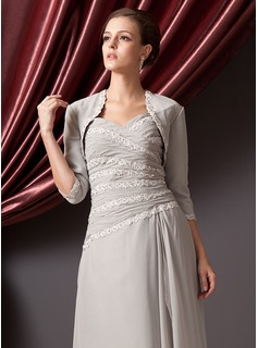 Chiffon Lace Special Occasion Wrap (013014585)