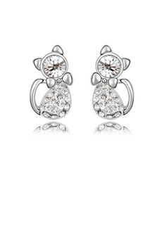 Alloy With Imitation Crystal Women's Fashion Earrings (011036383)