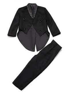 Boys 2 Pieces Elegant Ring Bearer Suits /Page Boy Suits With Jacket Pants (287199758)