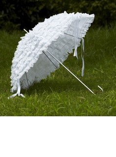 White Lace Wedding Umbrellas (124032729)