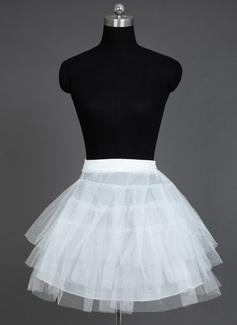 Women Nylon/Tulle Netting Short-length 3 Tiers Petticoats (037031011)