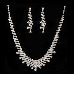 великолепный сплав/хрусталь женские Комплекты ювелирных изделий (011027532)