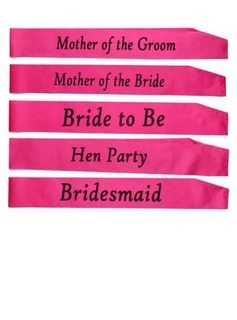 Bridesmaid Gifts - Elegant Satin Sash (Sold in a single piece) (256183476)