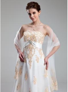Tulle mariage Châle (013022580)