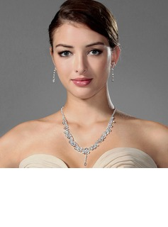 Gorgeous Alloy With Rhinestone Ladies' Jewelry Sets (011006982)