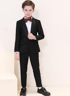 Ragazzi 4 pezzi Stile Classico Abiti per Paggetti /Page Boy Suits con Giacca Camicia Pantaloni ciclo continuo (287204953)