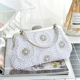 Elegant Resin/Imitation Pearl Clutches/Top Handle (012209657)