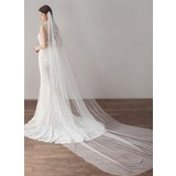 One-tier Cathedral Bridal Veils (006182543)