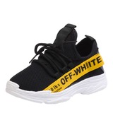 Girl's Closed Toe Cloth Flats Sneakers & Athletic With Lace-up (207191606)