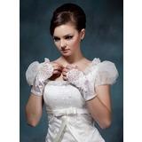 Упругие атласная Наручные длина Партии/мода перчатки/Свадебные перчатки (014020497)