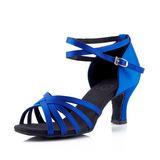 Mulheres Sandálias Latino Sapatos de dança (053123665)