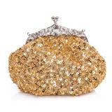 Mode Satin/Pailletten mit Perlen verziert Handtaschen (012025172)