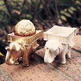 Bella Elefante Resina Regali Creativi (Set di 3 pezzi) (051197288)