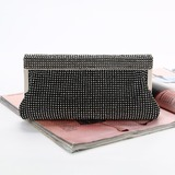 Delicate Satin Clutches (012182968)