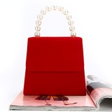 Personalized Style Velvet Clutches (012200765)