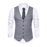 Classic Wool Men's Vest (200197363)
