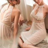 Tule Feminino roupa de dormir (041190815)