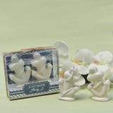 Classic Ceramic Salt & Pepper Shakers (Sold in a single piece) (051183101)