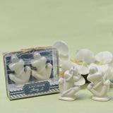 Stile classico Di ceramica Sale & del Pepe Scuotipaglia (Venduto in un unico pezzo) (051183101)
