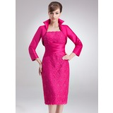 Long Sleeve Taffeta Special Occasion Wrap (013012405)