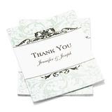 Personalizado Estilo Formal Obrigado cartões (Conjunto de 50) (114054959)
