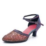 Donna Mesh Tacchi Sala da ballo Scarpe da ballo (053201972)