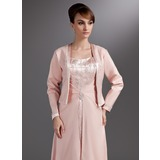 Long Sleeve Satin Special Occasion Wrap (013016913)