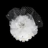 Affascinante Cristallo Fascinators/Fiori & piume (042015994)