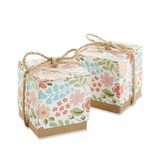 Smiling Flower Cubic Favor Boxes (Set of 12) (050054562)