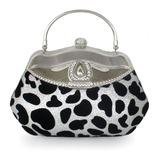 Mode Samt Handtaschen (012183636)