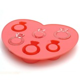 Lindo Anel Silicone Gelo Mould (051053240)