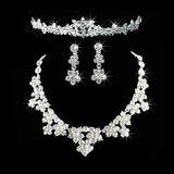 Lindo Liga com Strass Senhoras Conjuntos de jóias (011026642)