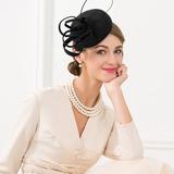 Signore Elegante/stile vintage Lana Fascinators (196190307)