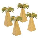Kokos Træ Form Andet Pap Papir Yndlingsæsker (sæt af 12) (050154082)