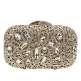 Attractive Crystal/ Rhinestone/Alloy Clutches (012183563)