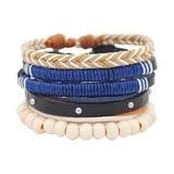Wood Unisex Fashion Bracelets (Sold in a single piece) (137193020)