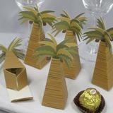 Kokosnoot Boom Ontwerp Bedank Doosjes (Set van 12) (050013115)