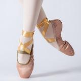 Donna Raso Ballerine Balletto Scarpe da ballo (053147406)