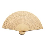 Amazing Sandalwood Hand fan (Set of 4) (051055110)