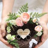 Птичье гнездо прут Держатель кольца с искусственный цветок (103203899)